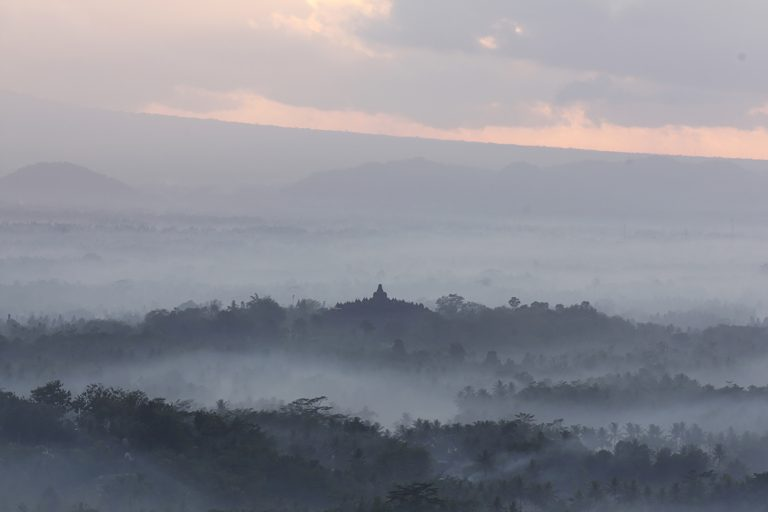Reisfotografie Indonesië Borobodur