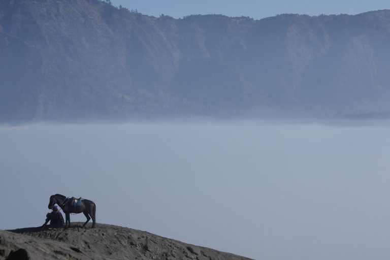 Reisfotografie Indonesië Bromovulkaan